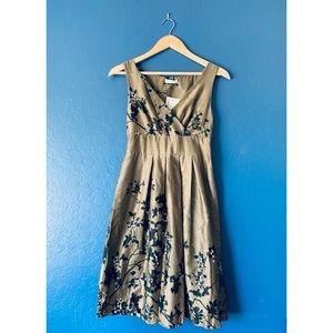 NWT Promod Floral Vintage-style Dress - FR 34